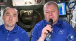Российские космонавты поздравили соотечественников с праздником (ВИДЕО)