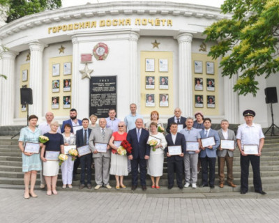 В Севастополе открыта Доска почёта города