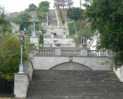 В Керчи торжественно откроют Митридатские лестницы