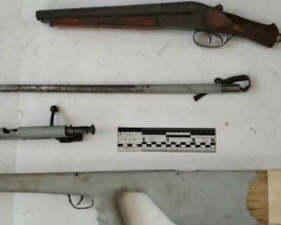 Житель Алушты переделал охотничье ружье