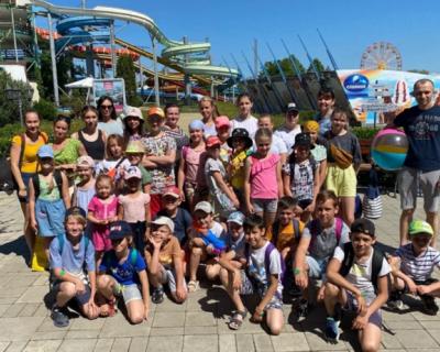 В севастопольском аквапарке «Зурбаган» прошла благотворительная акция