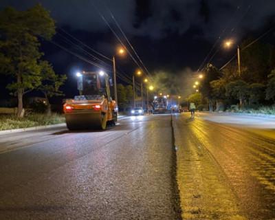 В Севастополе завершается ремонт дороги на проспекте Героев Сталинграда