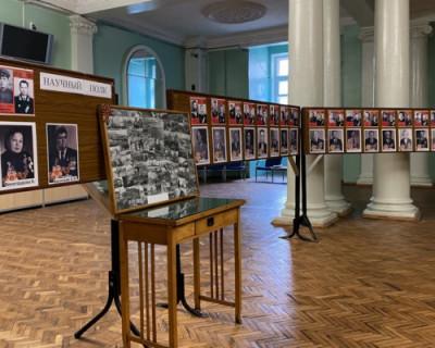 В СевГУ открылась фотовыставка «Научный полк»