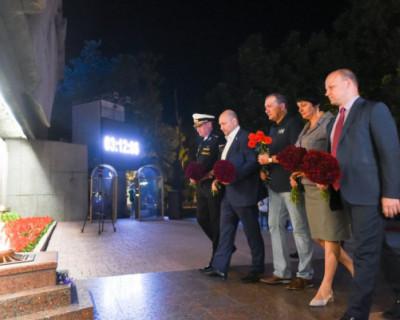 В Севастополе почтили память погибших во время Великой Отечественной войны
