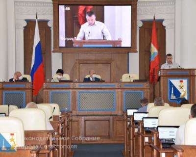 Севастопольский парламент «в ударе»