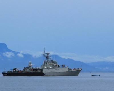 Британский эсминец нарушил границу РФ в районе Крыма