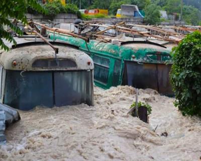 Ялта после наводнения в июне 2021 г.
