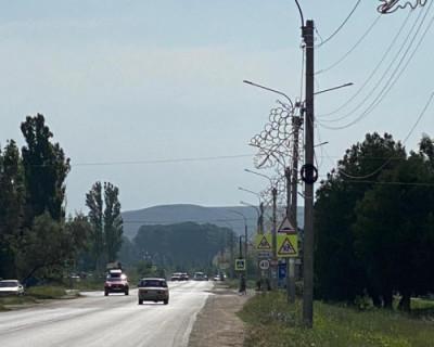 В селе Орловка появится современное осветительное оборудование