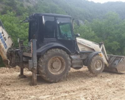 Севавтодор восстанавливает дорогу к детскому лагерю «Горный»