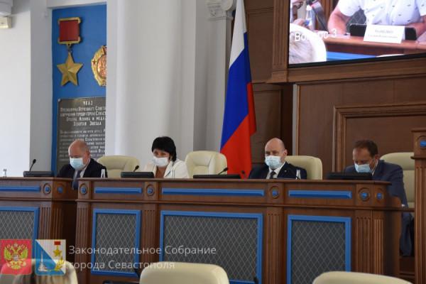 Жаркая сессия Заксобрания Севастополя