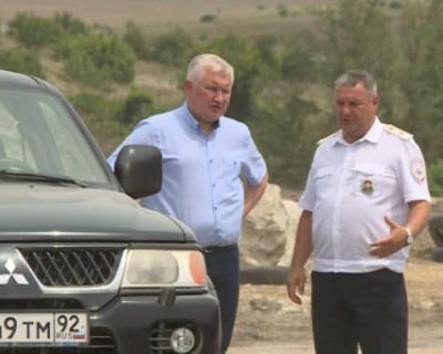 Севастопольские чиновники выявили несанкционированную свалку