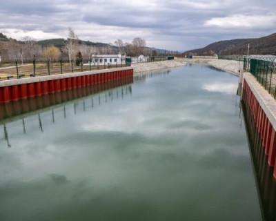 Водозабор на Бельбеке успешно противостоял удару стихии