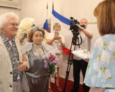 Юрий Куклачев и его жена отметили «золотую» свадьбу в Ялте