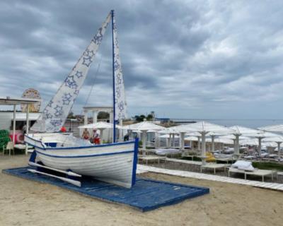 Пляж «Аквамарин» входит в число лучших пляжей Севастополя и Крыма (ВИДЕО)