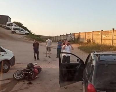 Смертельное ДТП: мотоциклист столкнулся с автомобилем