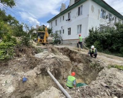 В Севастополе ведется замена канализационных сетей