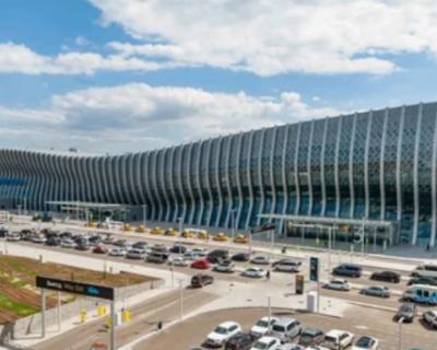 Женщина упала со второго этажа в аэропорту «Симферополь»