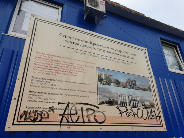 В Крыму выберут подрядчика для завершения строительства театра кукол в Симферополе 1