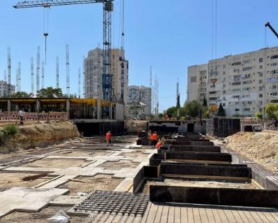 В Севастополе продолжается строительство школы №54