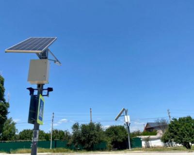 К концу июля завершат устройство наружного освещения в Орловке