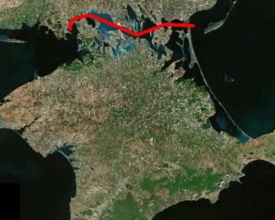 Украина планирует сделать из Крыма остров!