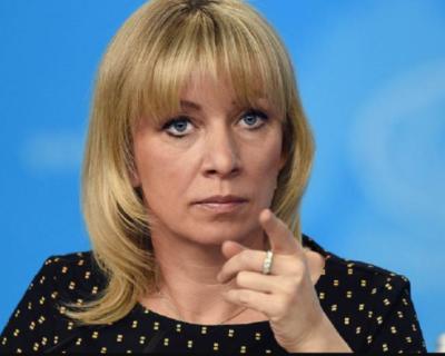 Мария Захарова обиделась на смайл с беременными мужчинами