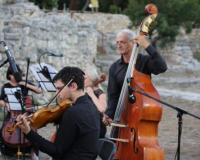 В Херсонесе прошел концерт камерного оркестра