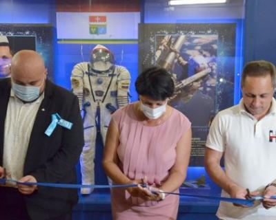 В Балаклаве открыли музейную экспозицию «Наш космонавт»