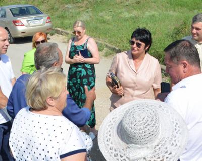 Татьяна Лобач посетила села Байдарской долины