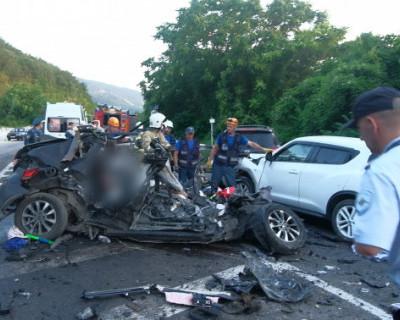 В жутком ДТП на трассе Ялта - Севастополь погибла семья из Москвы