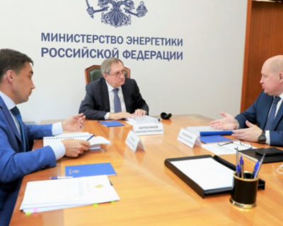 Губернатор Севастополя встретился с главой Минэнерго РФ