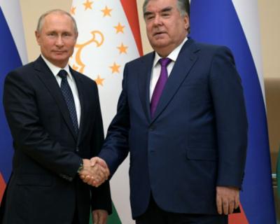 Президенты РФ и Таджикистана обсудили ситуацию в Афганистане