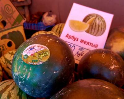 21 точка продажи арбузов и дынь в Севастополе