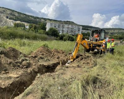 В Севастополе ведётся строительство трубопровода высокого давления