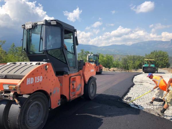 строительство дороги к ЖК