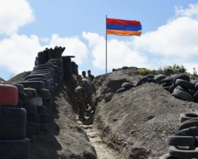 На границе Армении и Азербайджана снова начались бои
