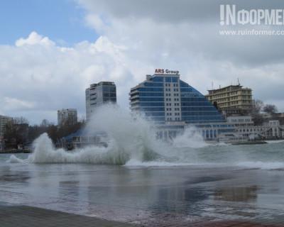 4 апреля 2015 года. В Севастополе первый весенний шторм (много фото)