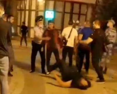 Полиция Крыма выясняет обстоятельства драки в центре Симферополя