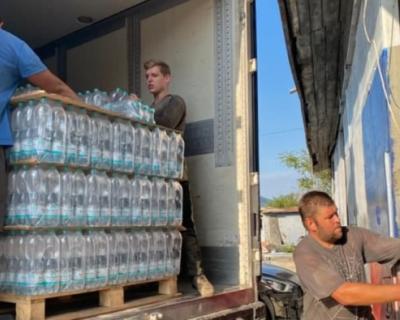 Северная Осетия передала Ялте 40 тонн питьевой воды
