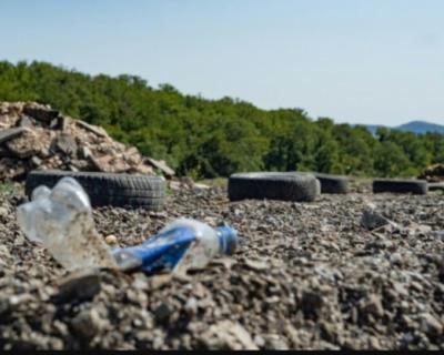 В Севастополе обнаружили несанкционированную свалку