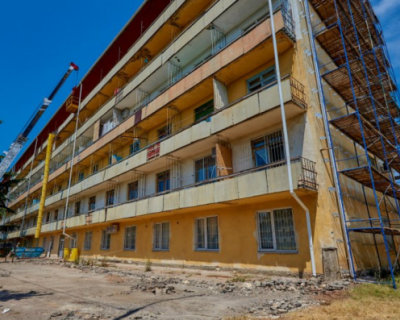 В  Севастополе начался ремонт противотуберкулёзного диспансера