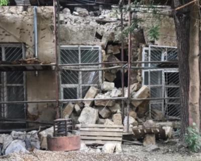 В Симферополе обрушилось здание Крымской государственной филармонии