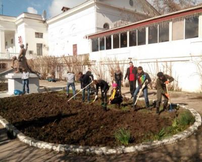 В Севастополе высадили 70 кустов роз в честь 70-летия Победы (фото)