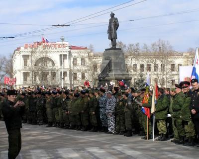 Севастопольская САМООБОРОНА. Верны выбору совести