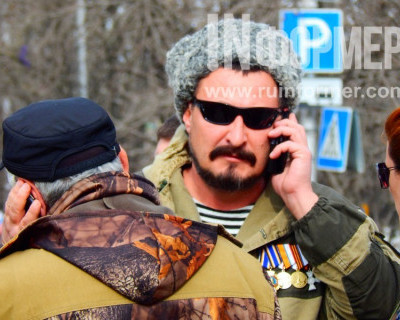 Награждение участников Самообороны Севастополя