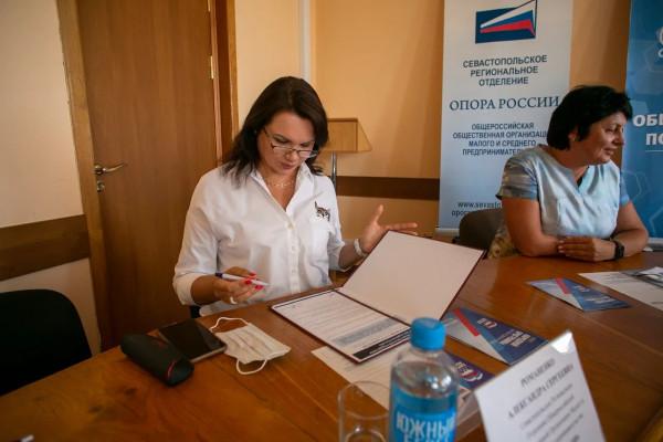 «Единая Россия» подписала соглашения с предпринимателями Севастополя 2