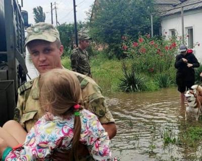 В Керчи ликвидируют последствия наводнения