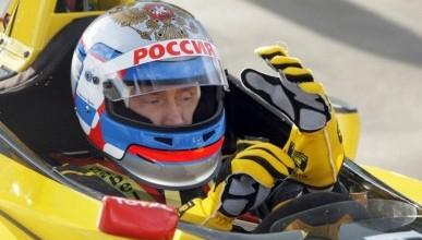 Динамичный Владимир Путин (фото)