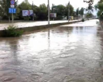 Ночные дожди снова затопили Керчь