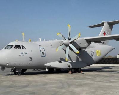 В Подмосковье разбился новейший самолет ВКС РФ